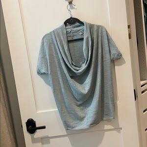 Sparkle scoop neck sweater